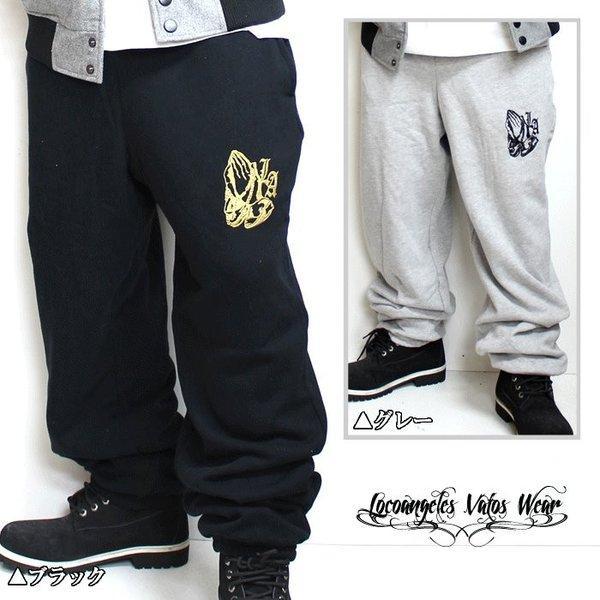 マリアハンド  b系ファッション メンズ スウェットパンツ スエット ダンス 衣装 LOCOANGELES|bigbangfellas