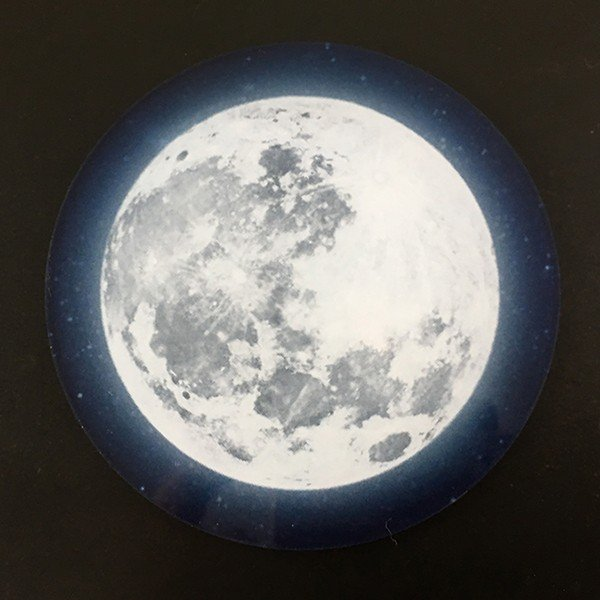 DM便送料無料 テーブルによって色味の変化が楽しめるフルムーン(満月)コースター 星空・夜空・銀河・star|bigbossshibazaki|03