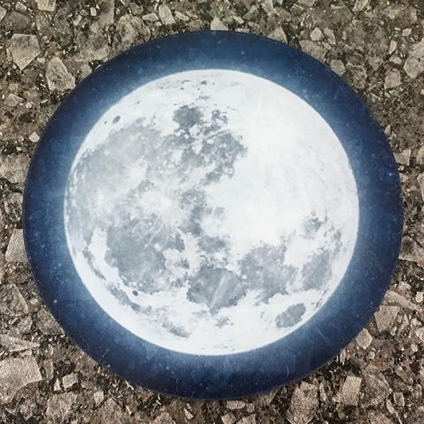 DM便送料無料 テーブルによって色味の変化が楽しめるフルムーン(満月)コースター 星空・夜空・銀河・star|bigbossshibazaki|05