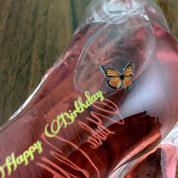 名入れ印刷 シンデレラシューミニチュアボトル ピンク 40ml|bigbossshibazaki|03