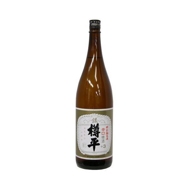 日本酒 日本酒 樽平 銀 特別純米酒 辛口 1.8L 『FSH』