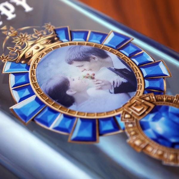 名入れ印刷 記念の写真をボトルに印刷!ボンベイサファイア 名入れ記念ボトル 750ml ギフト プレゼント gift|bigbossshibazaki|04