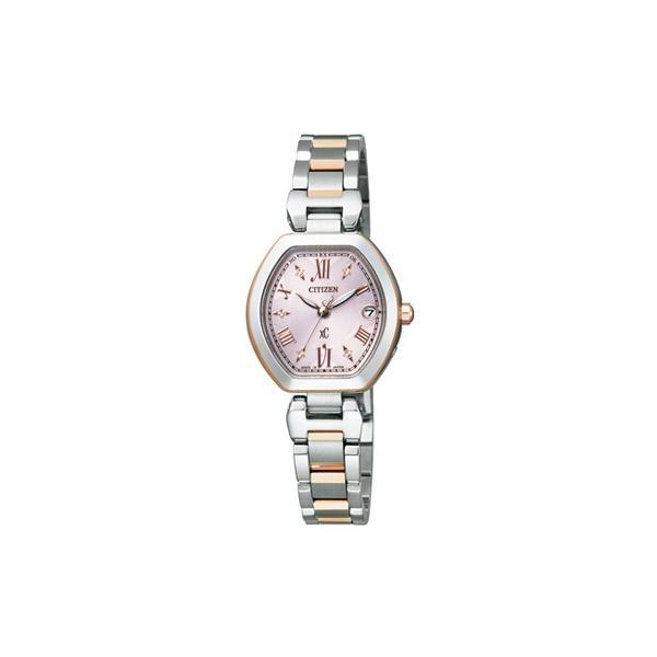 CITIZEN シチズン xC クロスシー エコドライブ電波時計 レディース腕時計 ES8054-50W