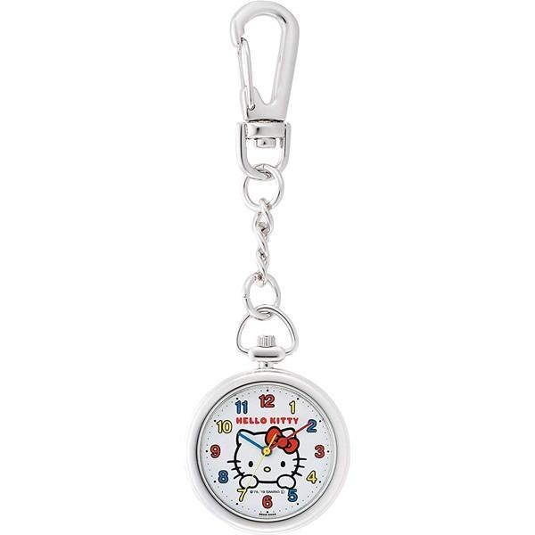 シチズンQ&Qチプシチ懐中時計ポケットウォッチフック式ハローキティHK27-204
