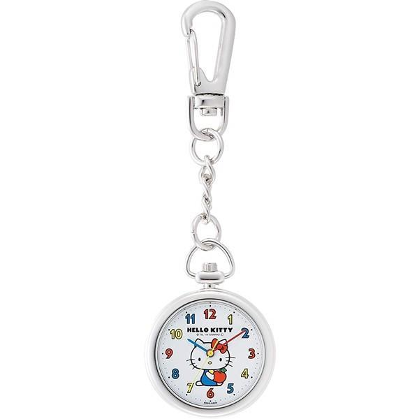 シチズンQ&Qチプシチ懐中時計ポケットウォッチフック式ハローキティHK27-214