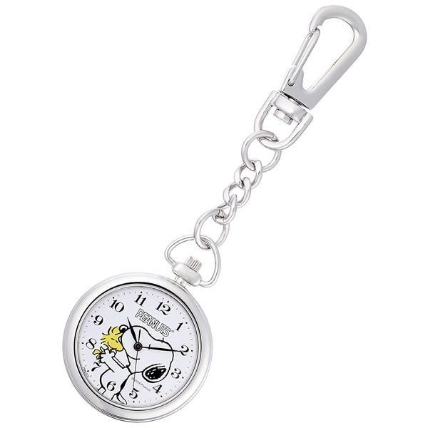 シチズンQ&Qチプシチ懐中時計ポケットウォッチフック式PEANUTSSNOOPYピーナッツスヌーピーP004-214