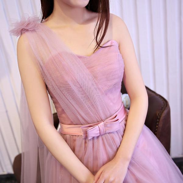 ロングドレス イブニングドレス ウエディングドレス フォーマルドレス  パーティードレス ワンピース カラードレス 二次会 演奏会 披露宴 発表会 [ピンク]|bigchancenet|05
