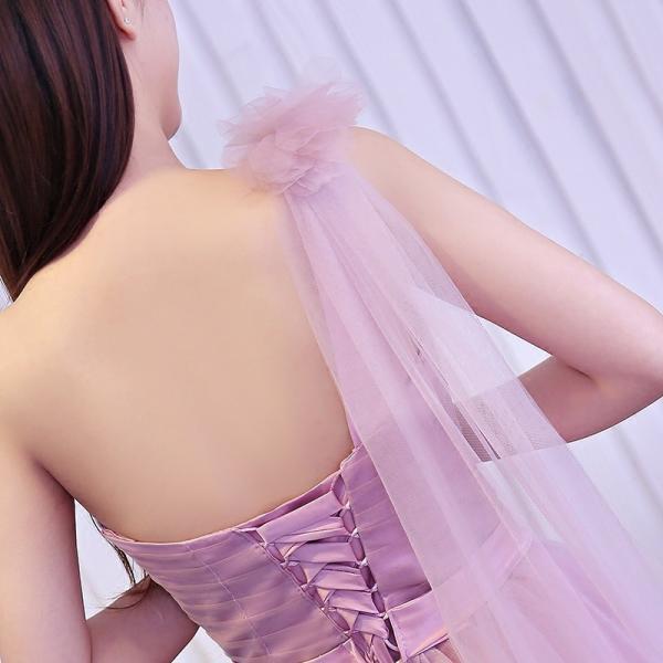 ロングドレス イブニングドレス ウエディングドレス フォーマルドレス  パーティードレス ワンピース カラードレス 二次会 演奏会 披露宴 発表会 [ピンク]|bigchancenet|06