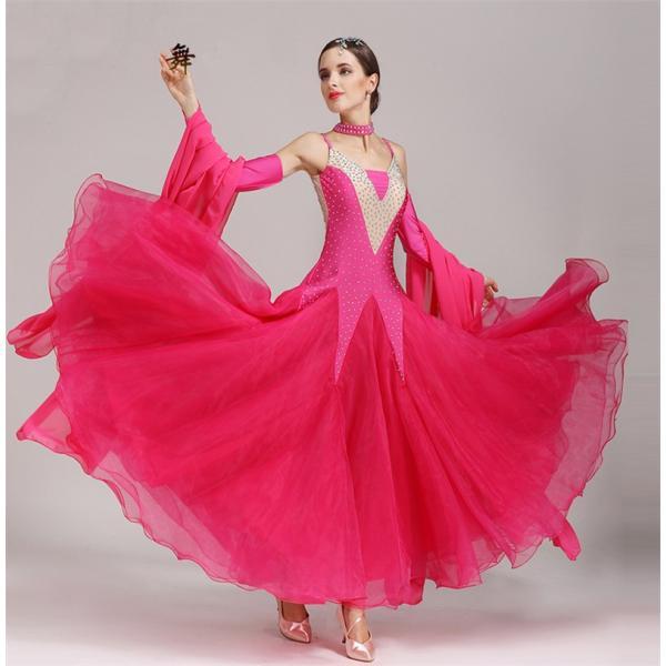 5aca00e3bc3b6 社交ダンス衣装 社交ダンスドレス ダンスウェア モダンドレス ダンス ...