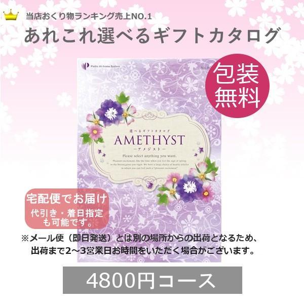 カタログギフト アメジスト (宅配便) 4800円コース(税込 5184円コース)|bighand