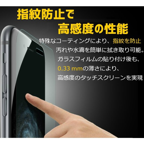 iPhone 強化ガラスフィルム iPhone5/5s/5c/6/6Plus/6s/6s Plus/SE/7/7Plus/8/8Plus/iPhoneX/XR/iPhoneXs/Xs max 液晶保護シート bigheart 05