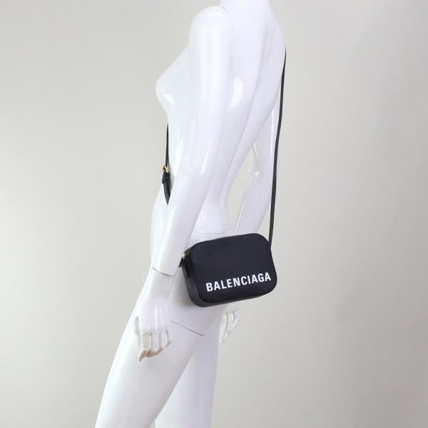 バレンシアガ BALENCIAGA VILLE ヴィル 斜め掛けショルダーバッグ 558171 0OTDM 1000 ブラック