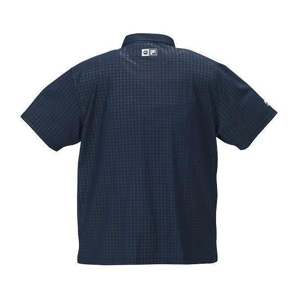 3L チドリエンボス半袖ポロシャツ FILA メンズ 大きいサイズ 4L
