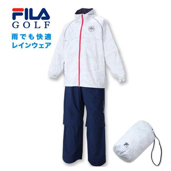 大きいサイズ メンズ FILA GOLF レインウェアセット 3L 4L 5L 6L