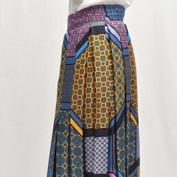 INSCRIRE アンスクリア SK17B プリント ボックスプリーツスカート 正規品ならビリエッタ。送料無料|biglietta|05
