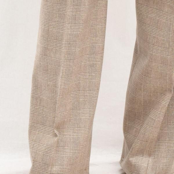 BERNARD ZINS ベルナール ザンス SAND グレンチェック タックワイドパンツ 正規品ならビリエッタ。送料無料 SALE対象商品|biglietta|07