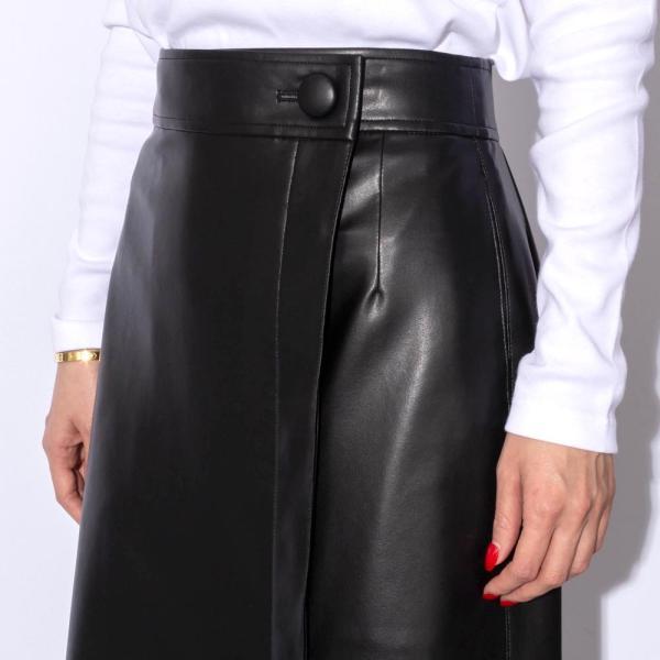SAYAKA DAVIS サヤカ デイヴィス LSK24-SVL フェイクレザースカート  正規品ならビリエッタ。送料無料 正規品|biglietta|03