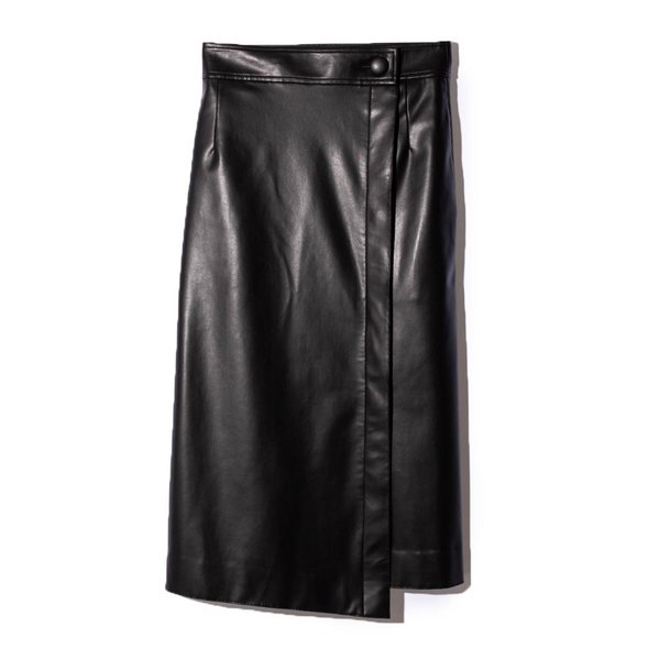 SAYAKA DAVIS サヤカ デイヴィス LSK24-SVL フェイクレザースカート  正規品ならビリエッタ。送料無料 正規品|biglietta|04