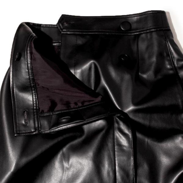SAYAKA DAVIS サヤカ デイヴィス LSK24-SVL フェイクレザースカート  正規品ならビリエッタ。送料無料 正規品|biglietta|05