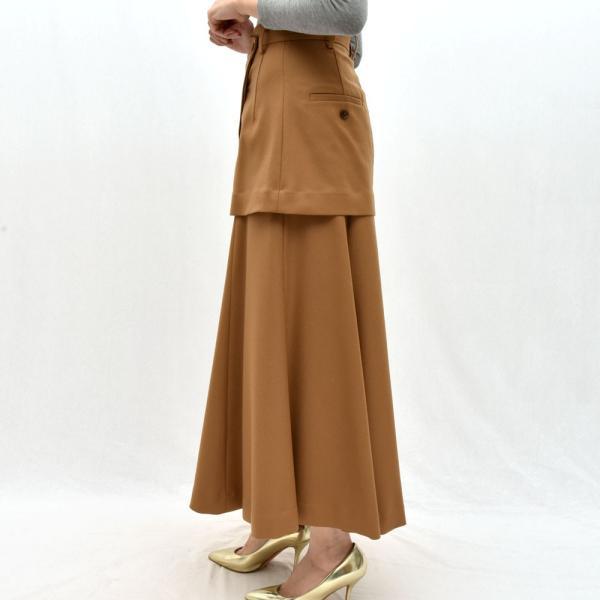 SAYAKA DAVIS サヤカ デイヴィス HSK41-WFL ウール レイヤードスカート 正規品ならビリエッタ。送料無料 SALE対象商品|biglietta|03