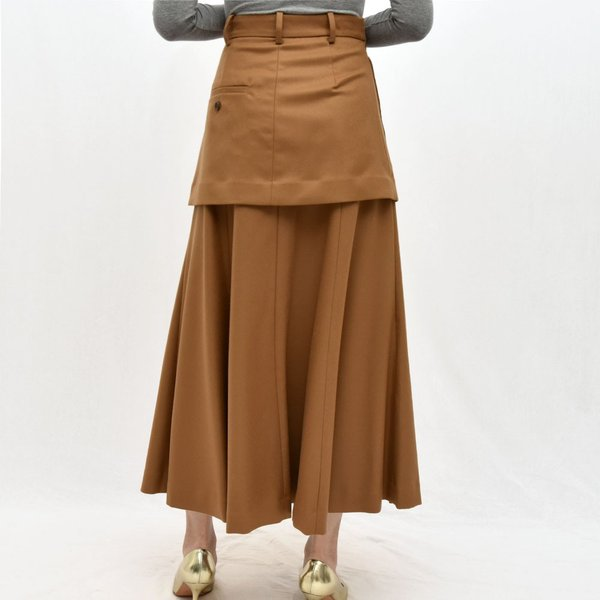 SAYAKA DAVIS サヤカ デイヴィス HSK41-WFL ウール レイヤードスカート 正規品ならビリエッタ。送料無料 SALE対象商品|biglietta|04