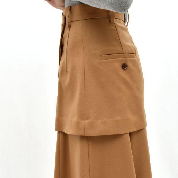 SAYAKA DAVIS サヤカ デイヴィス HSK41-WFL ウール レイヤードスカート 正規品ならビリエッタ。送料無料 SALE対象商品|biglietta|06