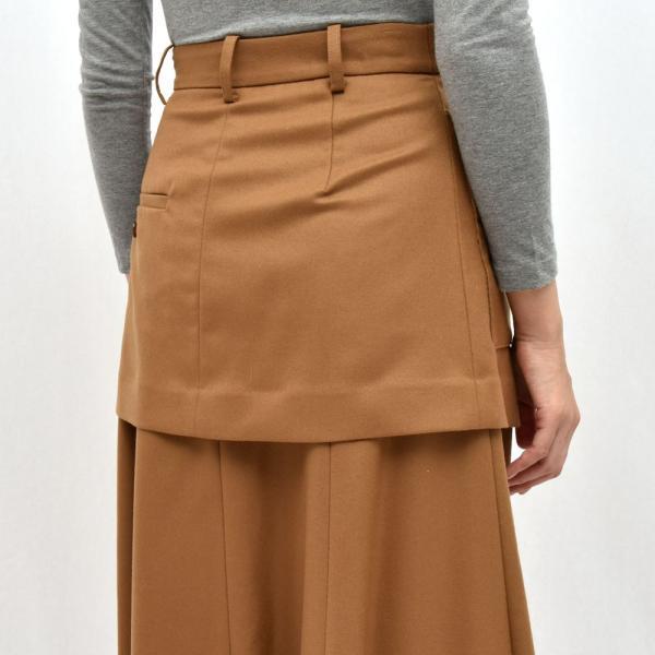 SAYAKA DAVIS サヤカ デイヴィス HSK41-WFL ウール レイヤードスカート 正規品ならビリエッタ。送料無料 SALE対象商品|biglietta|07