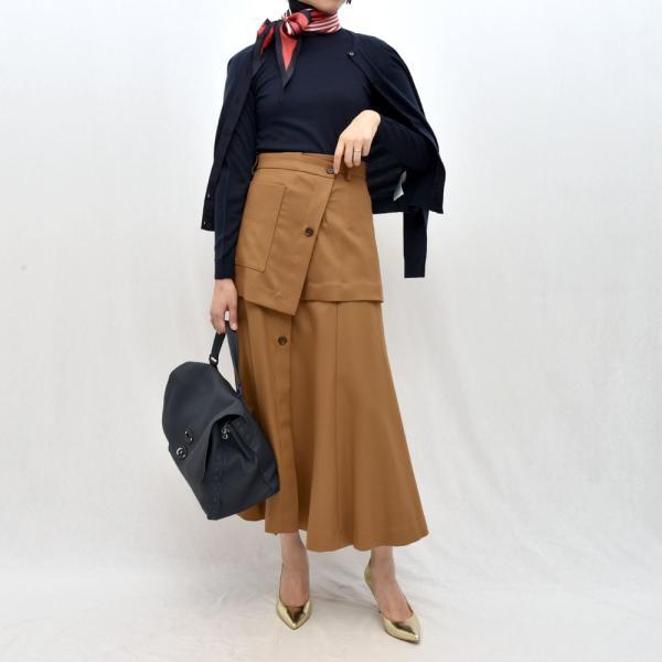 SAYAKA DAVIS サヤカ デイヴィス HSK41-WFL ウール レイヤードスカート 正規品ならビリエッタ。送料無料 SALE対象商品|biglietta|09