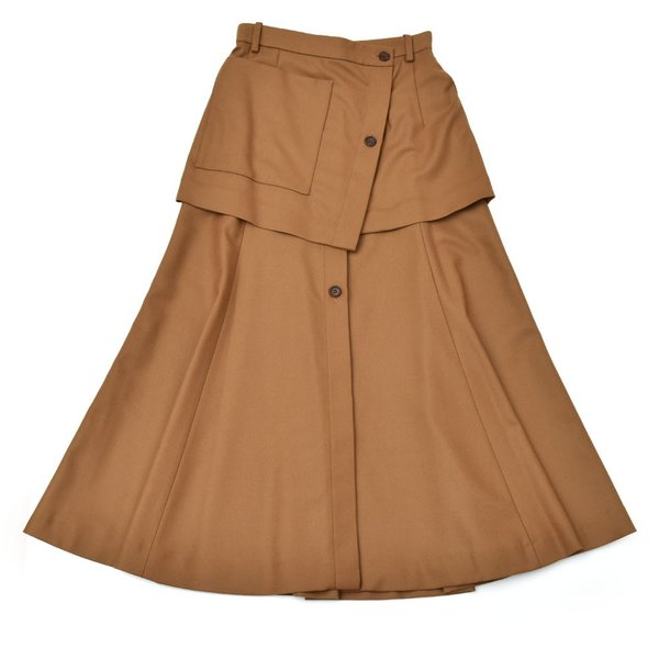 SAYAKA DAVIS サヤカ デイヴィス HSK41-WFL ウール レイヤードスカート 正規品ならビリエッタ。送料無料 SALE対象商品|biglietta|10