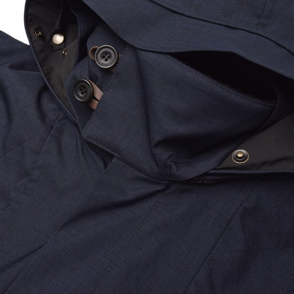 Norwegian Rain ノルウィージャンレイン NEW GDANSK リサイクルポリエステルフーデッドコート  正規品ならビリエッタ。送料無料|biglietta|10