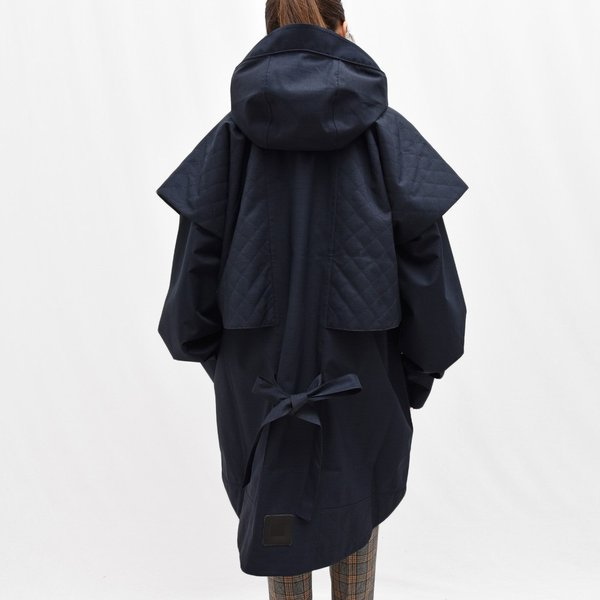 Norwegian Rain ノルウィージャンレイン NEW GDANSK リサイクルポリエステルフーデッドコート  正規品ならビリエッタ。送料無料|biglietta|04