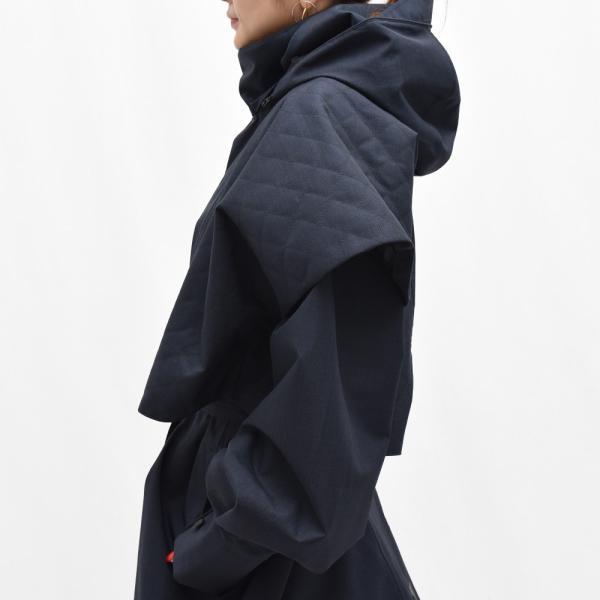 Norwegian Rain ノルウィージャンレイン NEW GDANSK リサイクルポリエステルフーデッドコート  正規品ならビリエッタ。送料無料|biglietta|06