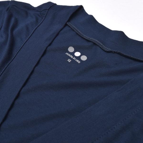 three dots スリードッツ LD5871 リファインドジャージー カシュクールワンピース  正規品ならビリエッタ。送料無料|biglietta|16