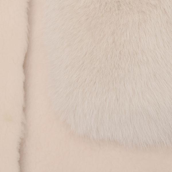KARL DONOGHUE カールドノヒュー CM-FPGW9 カシミアタッチラムスキン×サガファー コンビネーションジレ  正規品ならビリエッタ。送料無料|biglietta|14