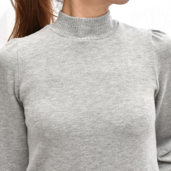 three dots スリードッツ QQ2666 ブラッシュドセーター パフスリーブクロップTシャツ 正規品ならビリエッタ。送料無料 SALE対象商品 biglietta 11