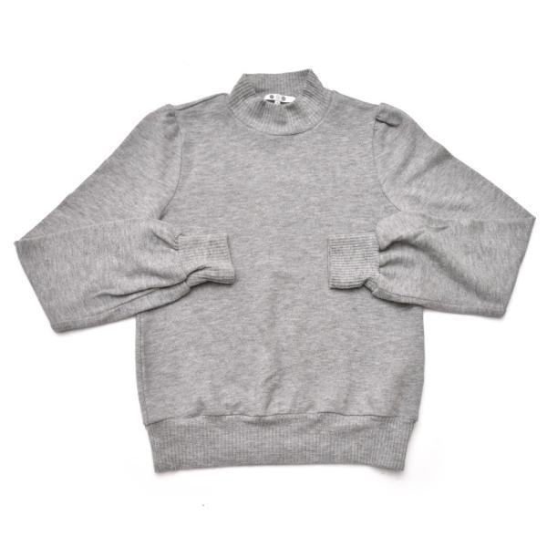 three dots スリードッツ QQ2666 ブラッシュドセーター パフスリーブクロップTシャツ 正規品ならビリエッタ。送料無料 SALE対象商品 biglietta 12