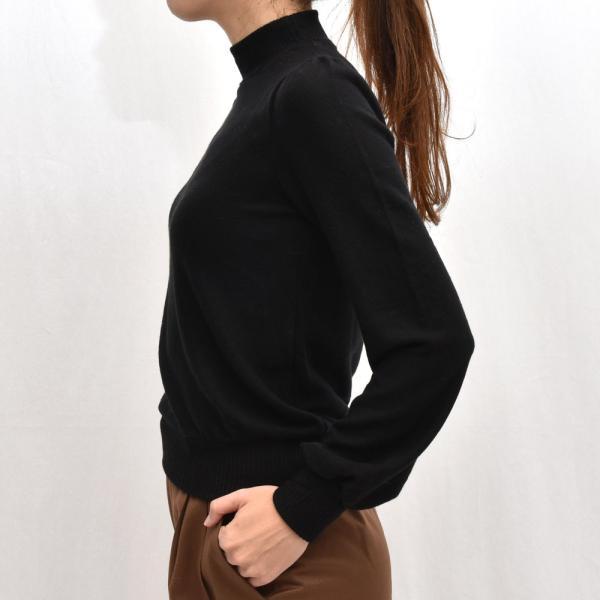 three dots スリードッツ QQ2666 ブラッシュドセーター パフスリーブクロップTシャツ 正規品ならビリエッタ。送料無料 SALE対象商品 biglietta 02