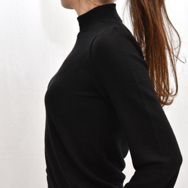 three dots スリードッツ QQ2666 ブラッシュドセーター パフスリーブクロップTシャツ 正規品ならビリエッタ。送料無料 SALE対象商品 biglietta 05