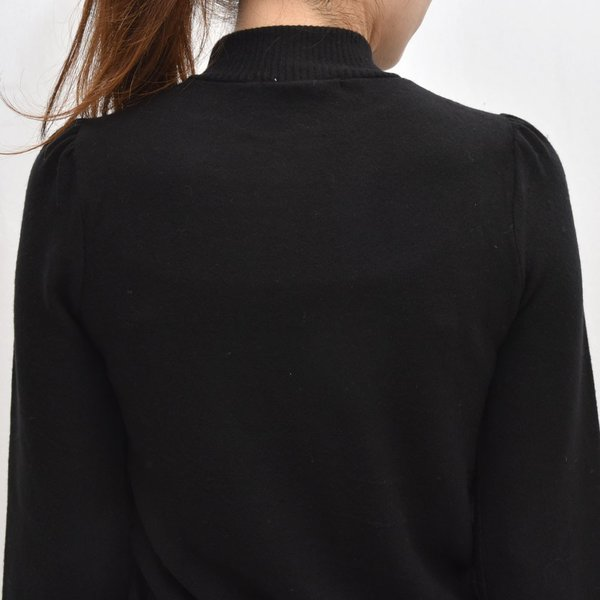 three dots スリードッツ QQ2666 ブラッシュドセーター パフスリーブクロップTシャツ 正規品ならビリエッタ。送料無料 SALE対象商品 biglietta 06