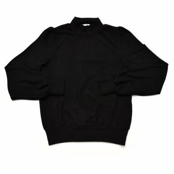 three dots スリードッツ QQ2666 ブラッシュドセーター パフスリーブクロップTシャツ 正規品ならビリエッタ。送料無料 SALE対象商品 biglietta 08