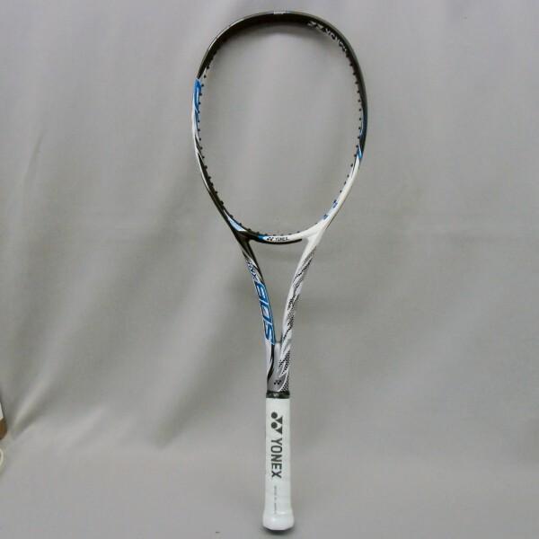 ソフトテニスラケット 後衛 ヨネックス アイネクステージ80S (ホワイト/ブルー) 高校生|bigsports|03
