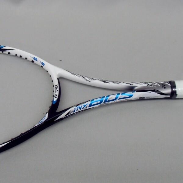 ソフトテニスラケット 後衛 ヨネックス アイネクステージ80S (ホワイト/ブルー) 高校生|bigsports|04
