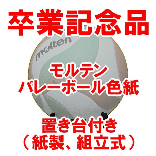 【卒業記念品】モルテン真正ボール型色紙
