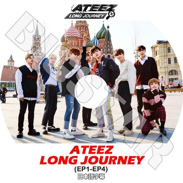K-POP DVD/ATEEZ Long Journey/EP01-EP04★日本語字幕あり/エーティーズ KPOP DVD