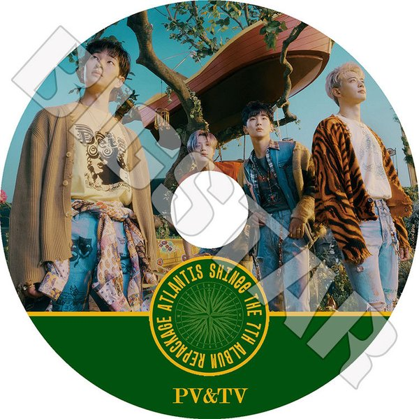 K-POP DVD/SHINee 2018 PV&TV セレクト★Good Evening/SHINee シャイニー KPOP DVD