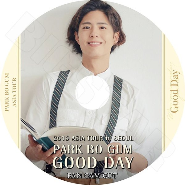 K-POP DVD/パクボゴム 2019 ASIA TOUR in SEOUL Fan Cam Cut/GOOD DAY/パクボゴム PARK BO GUM KPOP DVD