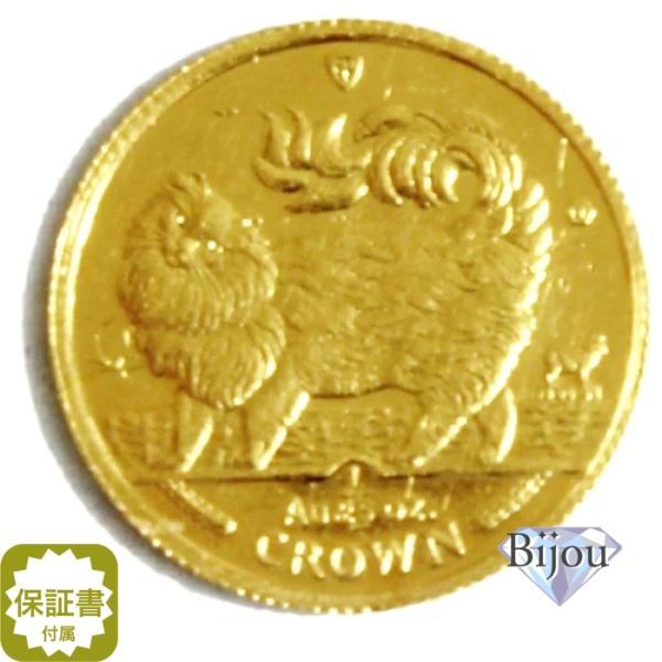 K24 マン島 キャット金貨 コイン 1/25oz 1.24g 1993年 招き猫 純金|bijou-shop