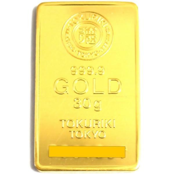 純金 インゴット 30g 徳力 新品未開封 K24 TOKURIKI INGOT 公式国際ブランド グッドデリバリー バー ゴールド バー 送料無料|bijou-shop|03