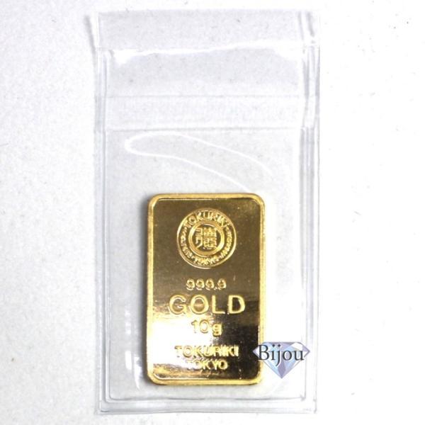 純金 インゴット 徳力 10g K24 新品 未開封 TOKURIKI INGOT 公式国際ブランド グッドデリバリー バー ゴールド バー 送料無料 bijou-shop 02