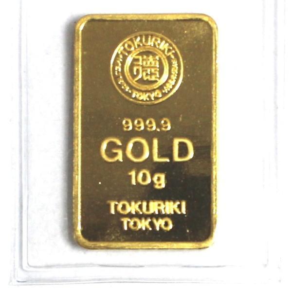 純金 インゴット 徳力 10g K24 新品 未開封 TOKURIKI INGOT 公式国際ブランド グッドデリバリー バー ゴールド バー 送料無料 bijou-shop 03